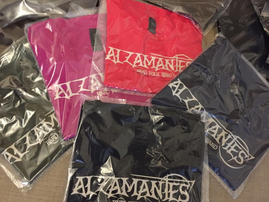ALZAMANTES T-shirt official merchandising1